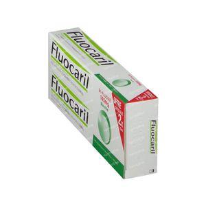 Fluocaril Tandpasta Bi-Fluoré 145 Munt Duo Verlaagde Prijs 2 x 75 ml