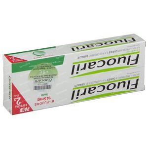 Fluocaril Toothpaste Bi-Fluoré 145 Mint Reduced Price 2 x 75 ml