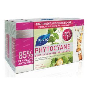 Phytocyane Wachtstumfördernde Anti-Haarausfall Kur DUO 24x7,5 ml
