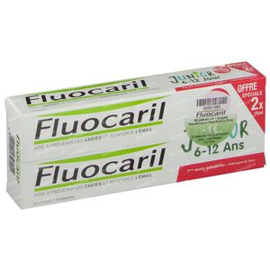Fluocaril Zahnpasta Junior Beerenfrüchte Reduced Price 2 x 75 ml