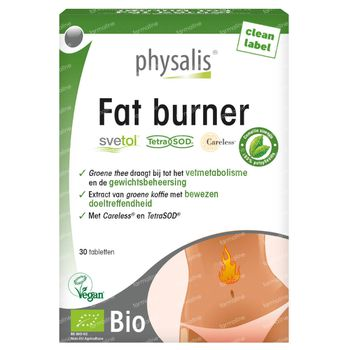 Physalis Fat Burner Bio 30 tabletten