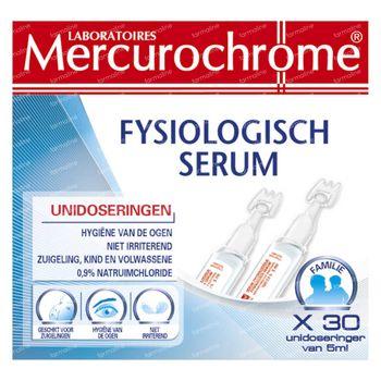 Mercurochrome Solution Saline Isotonique 30x5 ml