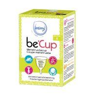 Intimy Care be'Cup Menstruatiecup Maat 1 1 stuk
