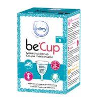 Intimy Care be'Cup Menstruatiecup Maat 2 1 stuk