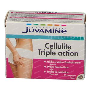 Juvamine Cellulitus Driedubbele Actie 30 tabletten