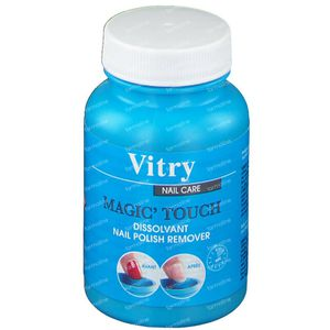 Vitry Magic Touch Nail Polish Remover without Acetone New Formula 75 ml