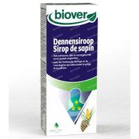 Biover Dennensiroop – Borst en keel – Biologisch Voedingssupplement met Tijm, Eucalyptus en Achinacea 150 ml