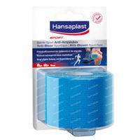 Hansaplast Sport Anti-Blistertape Blauw 1 st