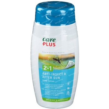Care Plus 2 en 1 Anti-Insectes & Après Soleil Lait Corporel 150 ml