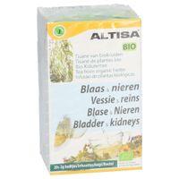 Altisa Bio Vessie & Reins Tisane de Plantes Bio Nouvelle Formule 20x2 g