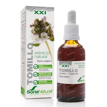 Soria Thymus Vulgaris xxi Extract 50 ml