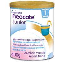 Nutricia Neocate Junior Aardbei 400 g