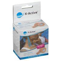 Naqi K-Active Tape Classic 5cmx5m Neutraal 1 st