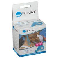 Naqi K-Active Tape Classic 5cmx5m Blauw 1 st