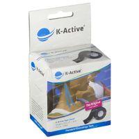 Naqi K-Active Tape Classic 5cmx5m Noir 1 st