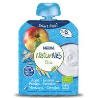 Nestlé NaturNes Bio Yoghurt Appel - Granen 6 Maanden 90 g