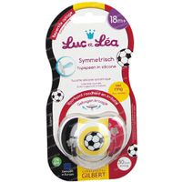 Luc & Léa Fopspeen Symmetrisch Voetbal met Ring Limited Edition 18Maanden+ 1 st