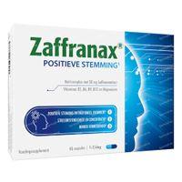 Zaffranax Positieve Stemming - Emotioneel, Stress, Vermoeidheid 45  capsules