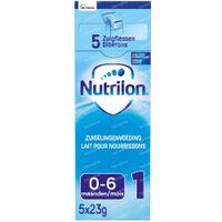 Nutrilon 1 Zuigelingenvoeding Poeder 5x23 g