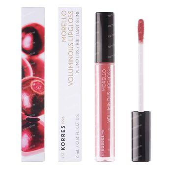 Korres KM Lipgloss Morello 16 Blushed Pink 4 ml