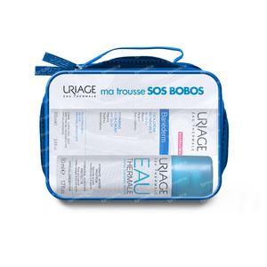 Uriage SOS Kit Bariéderm Cica SPF50+ met Koper-Zink + Thermaal Water + Pleisters 40+50 ml