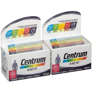 Centrum Men Duo 2x30 comprimés