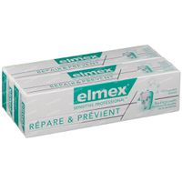 Elmex Sensitive Professional Repair & Prevent Tandpasta Bitube Duo Verlaagde Prijs 2×75 ml