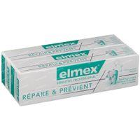 Elmex Sensitive Professional Repair & Prevent Toothpaste Bitube Duo Reduced Price 2x75 ml