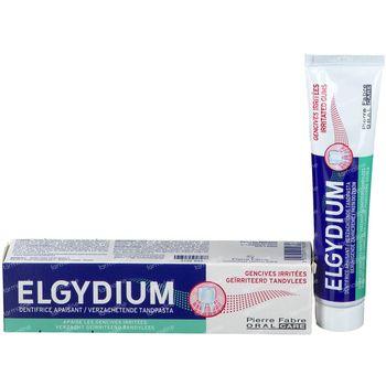 Elgydium Dentifrice Gencives Irritées 75 ml
