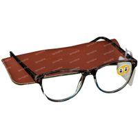 Plic Optique Leesbril Flamenco Blauw +3.00 1 st