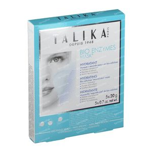 Talika Bio Enzymes Hydrating Mask PROMO PACK 5 pieces