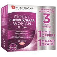 Forté Pharma Expert Haar Vrouw AGA 2+1 Maand GRATIS 120+60  capsules