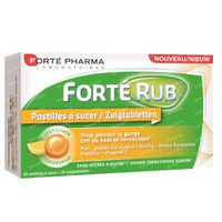 Forté Pharma Fortérub Keeltabletten Citroen 24  zuigtabletten