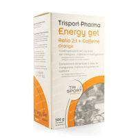 Trisport Pharma Energy Gel met Coffeïne Sinaas 10  zakjes