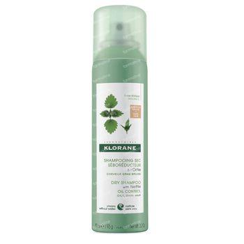 Klorane Droogshampoo voor Donker Haar met Brandnetel 150 ml spray