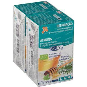 Biolys Tijm - Eucalyptus - Honing Duo 2x20 zakjes