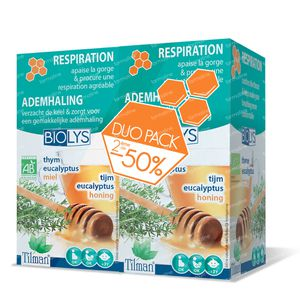 Biolys Thyme-Eucalyptus-Honey Infusion Duo 2x20 bags
