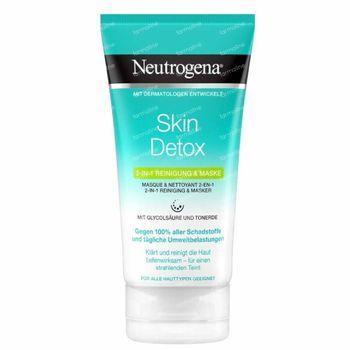 Neutrogena Deep Clean 2-in-1 Reiniging & Masker 150 ml