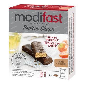 Modifast Protein Shape Barres Orange & Chocolat Noir 6x31 g