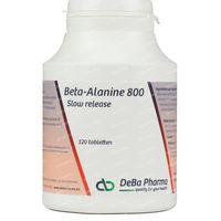 Deba Beta-Alanine Slow Release 800mg 120  tabletten