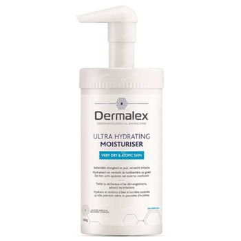 Dermalex Ultra Hydrating Moisturiser - Zeer Droge Huid en Eczemagevoelige Huid 500 g