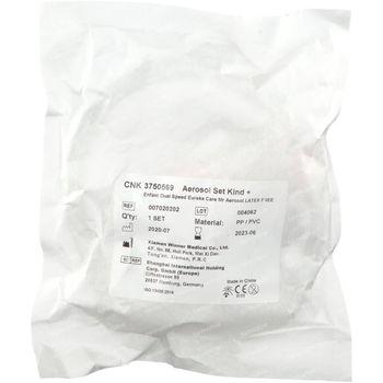 Eureka Pharma Mr. Aerosol Maskerset Dual Speed Kind 1 stuk