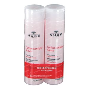 Nuxe Gentle Toning Lotion with Rose Petals DUO 2x200 ml