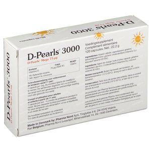 Pharma Nord D-Pearls 3000 +40 Capsules GRATUIT 80+40 capsules