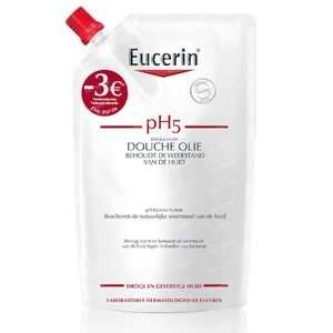 Eucerin pH5 Doucheolie Navulling Verlaagde Prijs 400 ml