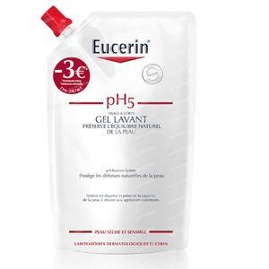 Eucerin pH5 Hautschutz Waschlotion Nachfüllbeutel Reduzierter Preis 400 ml