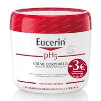 Eucerin pH5 Body Crème Verlaagde Prijs 450 ml