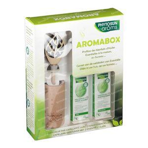 Phytosun Aromabox - Diffuser + Eucalyptus Radiata & Echte Lavendel 1 shaker