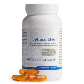 Biotics Optimal EFAs 120 capsules