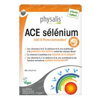 Physalis ACE Selenium 45  comprimés